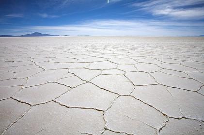 ウユニ塩湖,乾季