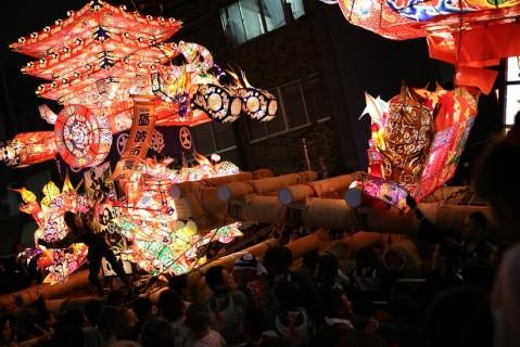 山王祭,日程,富山